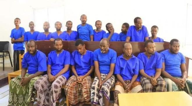 Somali execute 18 al-Shabab militants after court sentence