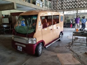UNILAG ZEV is a 63 per cent hardware and 100 per cent software home-made (Akoka content) mechatronics automobile device