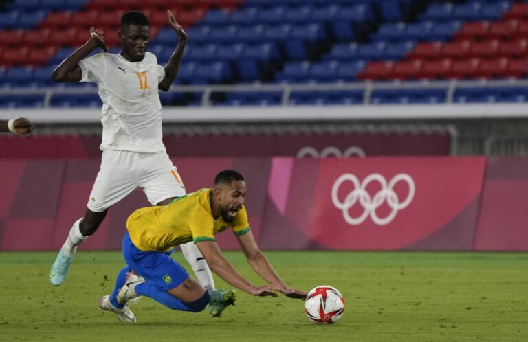 Brazil hold Cote d'Ivoire in Olympic football as Egypt, South Africa lose