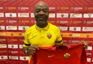 AS Roma appoint former Nigeria's coach as Technical Director