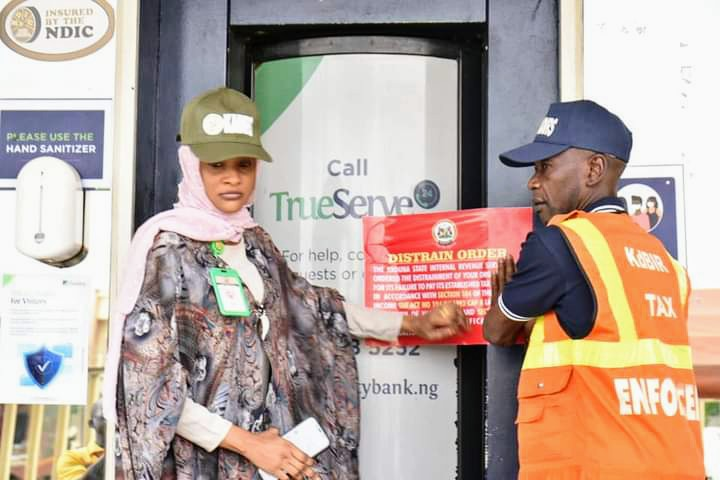 Kaduna govt seales Fidelity Bank branches over N43.3m tax liabilities