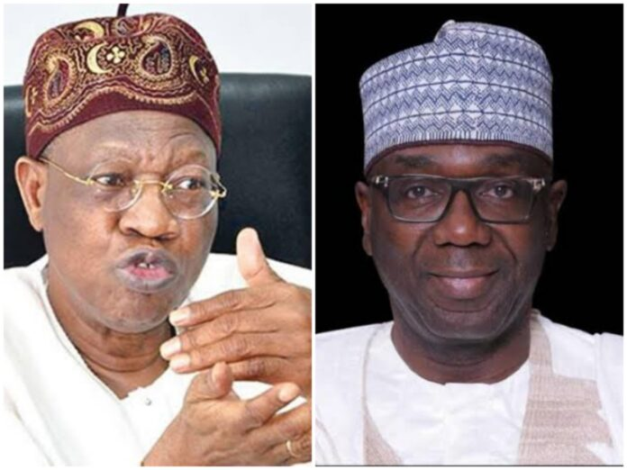 I will respond to you at appropriate time, Lai Mohammed tells AbdulRazaq