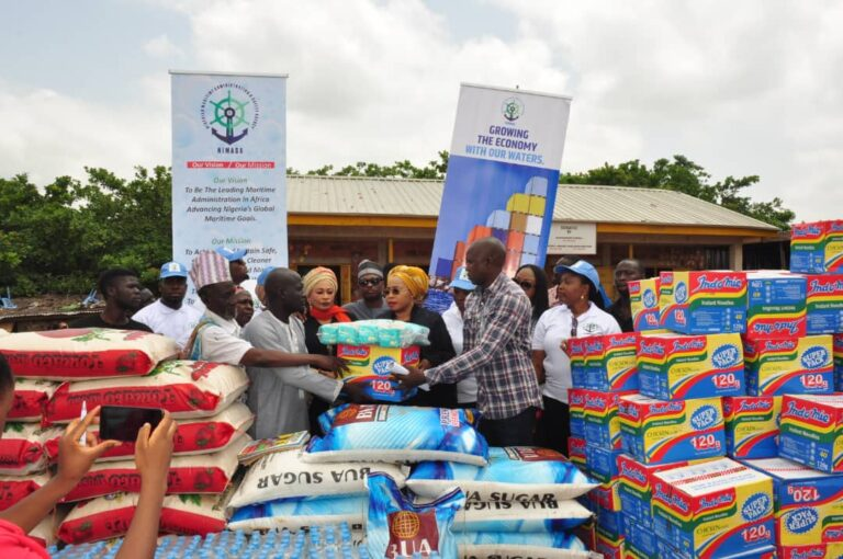 NIMASA donates food, other items to disabled persons in Gombe