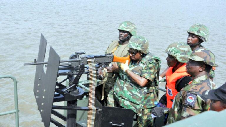 Nigerian Navy intercepts 1,209 bags of smuggled rice