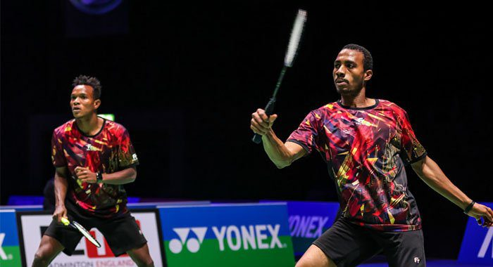 Nigerian pair eliminated from badminton men's doubles at Tokyo Olympics