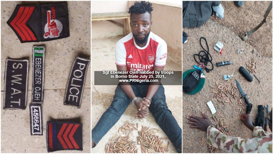 Ebenezer Ojeh nabbed in Borno