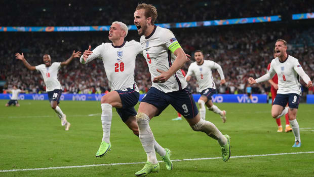 England beat Denmark to set up Euro 2020 final with Italy