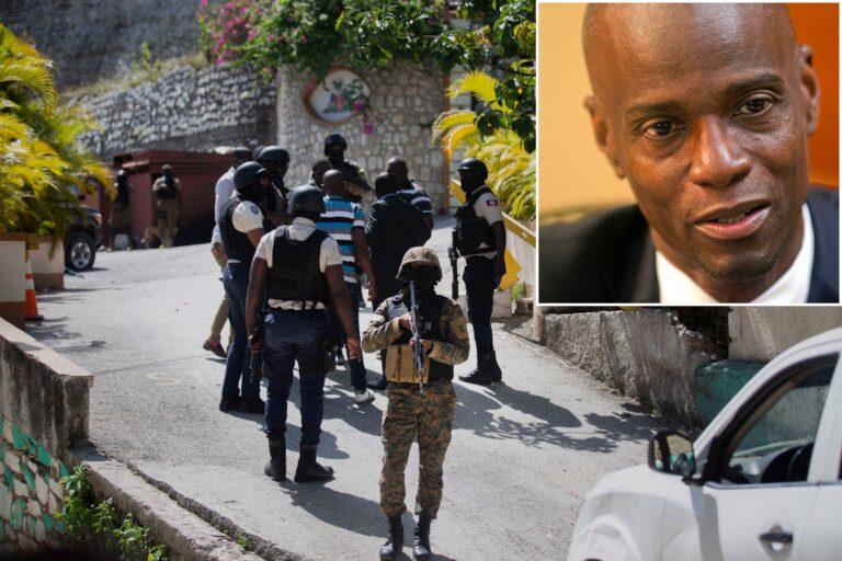Police arrest alleged mastermind of Haiti president's murder