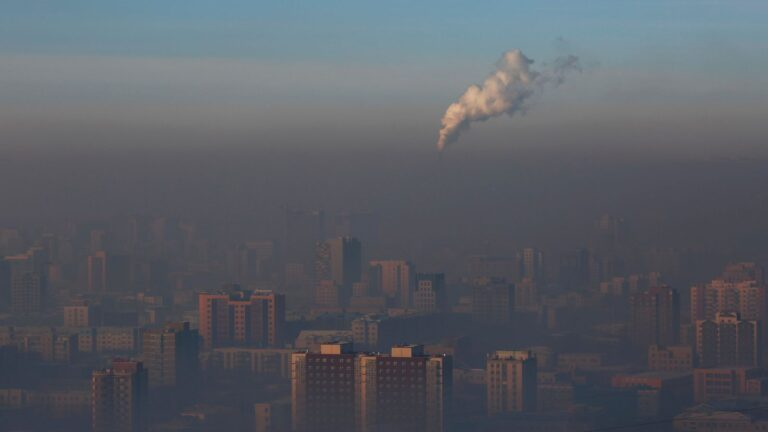 Mongolia's capital experiences severe air pollution due to Siberian wildfires
