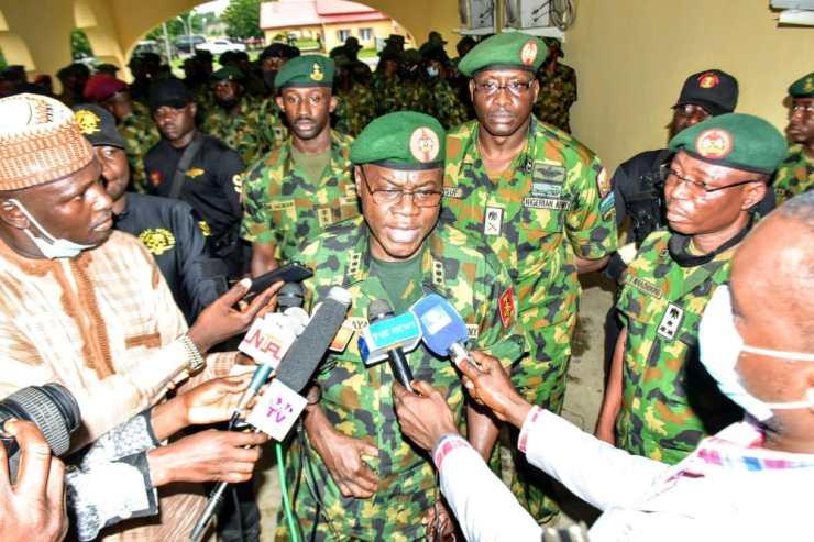 Nigerian Army donates 2 classroom blocks to primary school in Bauchi