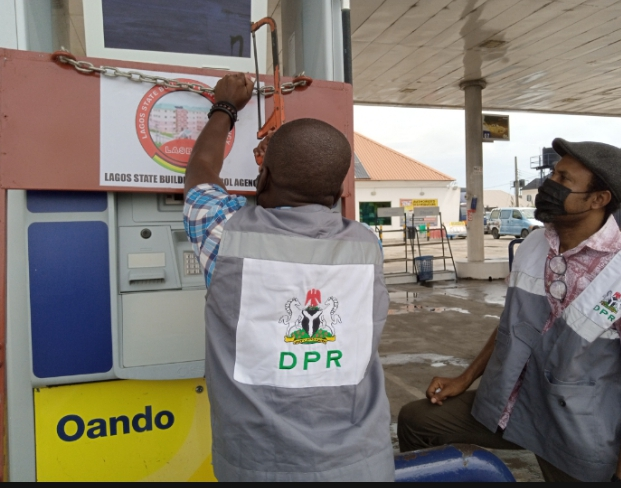 DPR reopens 5 filling stations in Lagos
