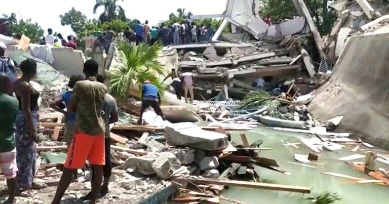 Haiti earthquake death toll rises to 2,189