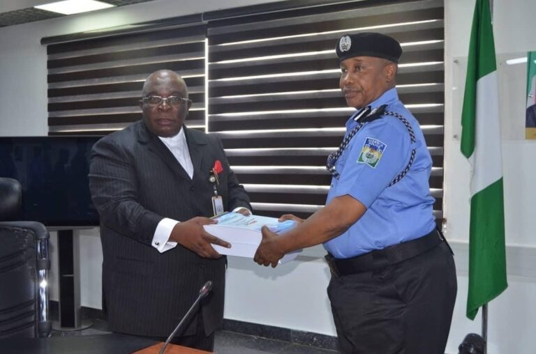 JUST IN: IGP receives report on Abba Kyari