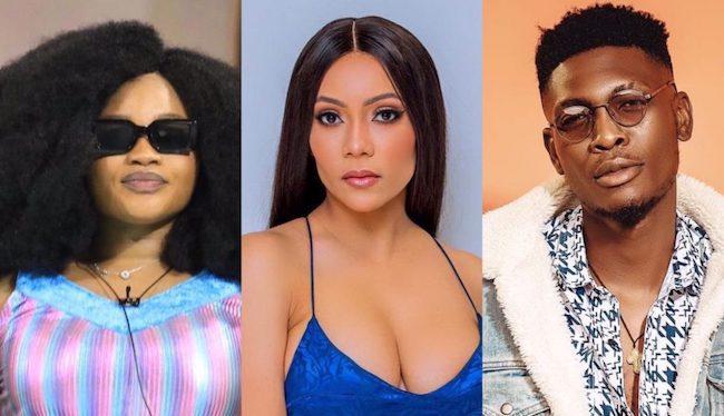 JMK, Maria, Sammie evicted from Big Brother Naija show