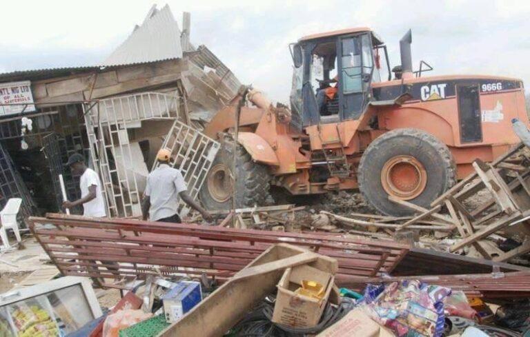 Kaduna govt demolishes 9 structures in Barnawa, Narayi