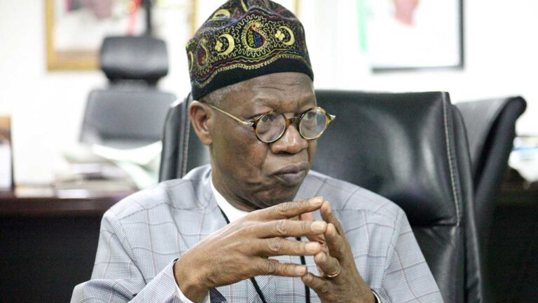 Lai Mohammed backs AGF on state of emergency declaration in Anambra