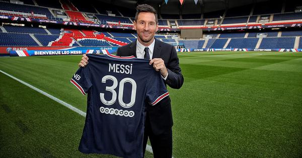 Messi excited to build 'something special' at PSG