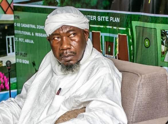 Sheikh Nuru Khalid, the chief Imam of Apo Legislative Quarters Mosque