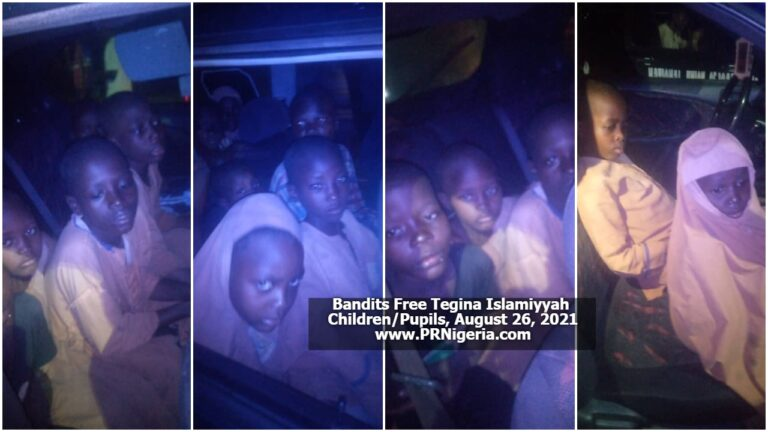 BREAKING: 88 days after, kidnapped Tegina Islamic school pupils finally released