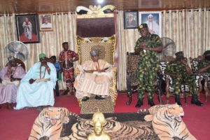 Security: COAS solicits support of traditional institution