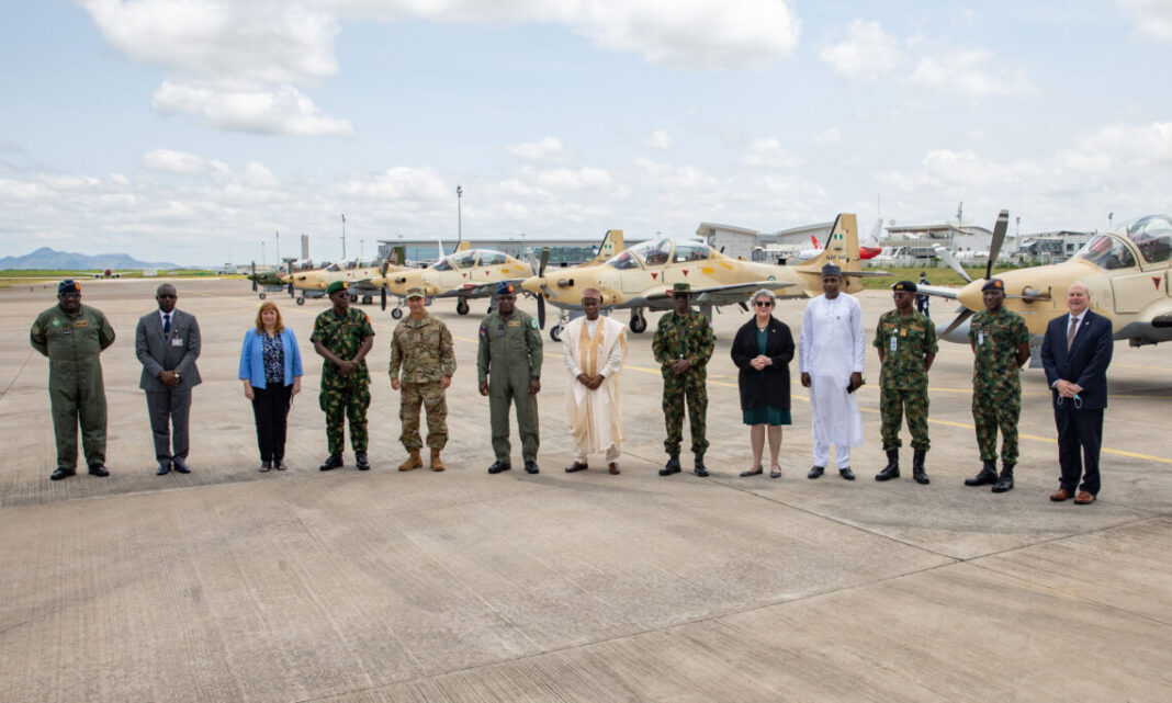 U.S-made A-29 Super Tucano aircraft inducted into Nigerian Air Force
