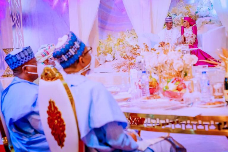 Yusuf Buhari hosts father, father-in-law, others to luncheon