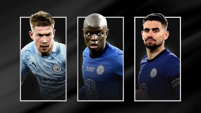 UEFA shortlists 3 nominees for 2021 Men's Player of the Year Awards