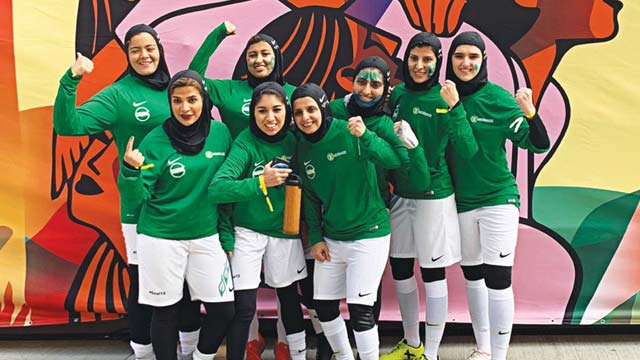 Saudi Arabia taking women's football seriously, says coach