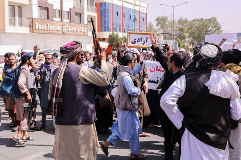 Taliban response to Afghan protests increasingly violent – UN