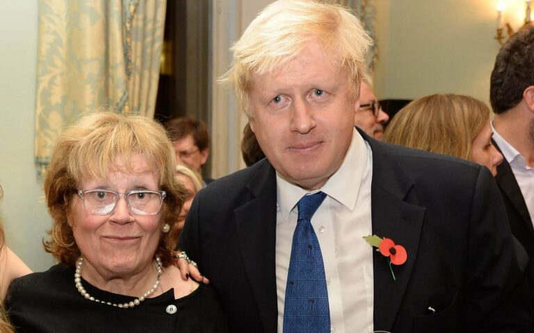 British PM Boris Johnson loses 79-year-old mum