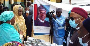 School Feeding: Humanitarian minister hands over feeding utensils to Borno govt
