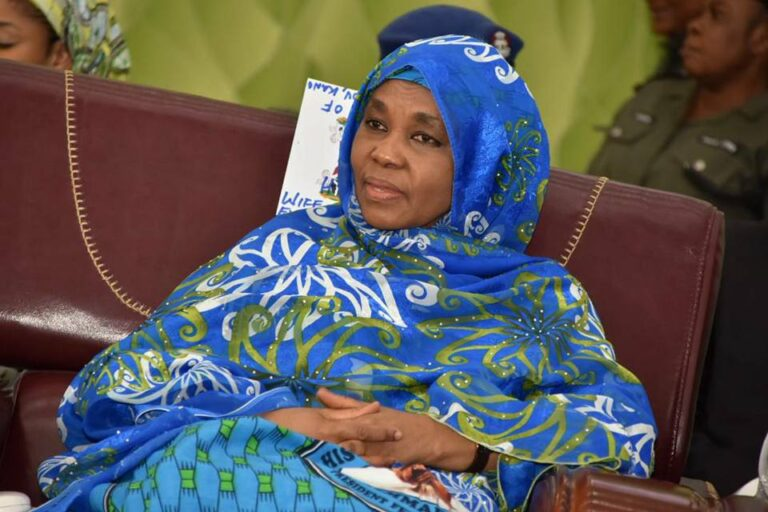 Ganduje's wife flags off campaign against drug abuse in Kano
