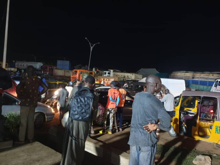 Gridlock as tanker drivers block Kano-Zaria highway over KAROTA 'high-handedness'