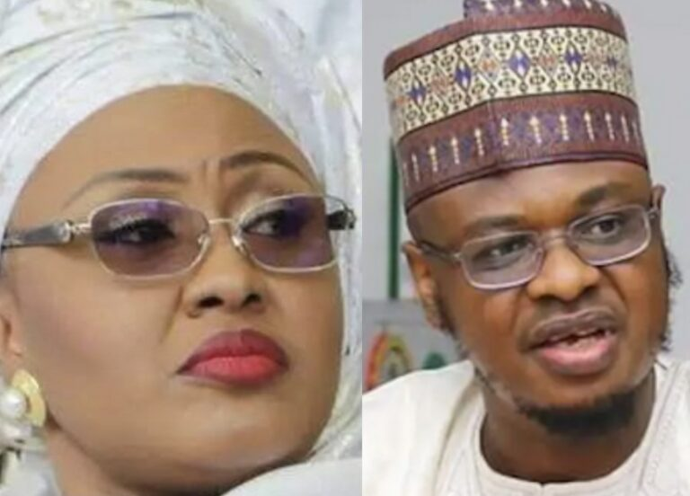 """Aisha Buhari shares Pantami's """"crying video"""", says 'be courageous to do the right thing'"""