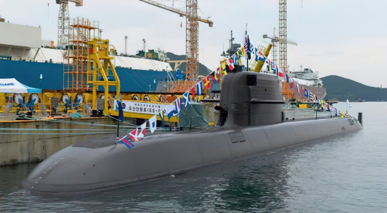 South Korea launches 3rd submarine equipped with ballistic missiles