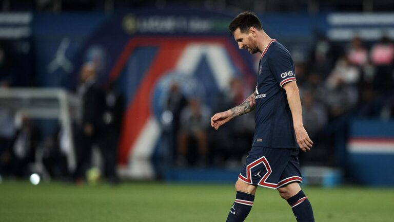 Messi ruled out of PSG game against Montpellier