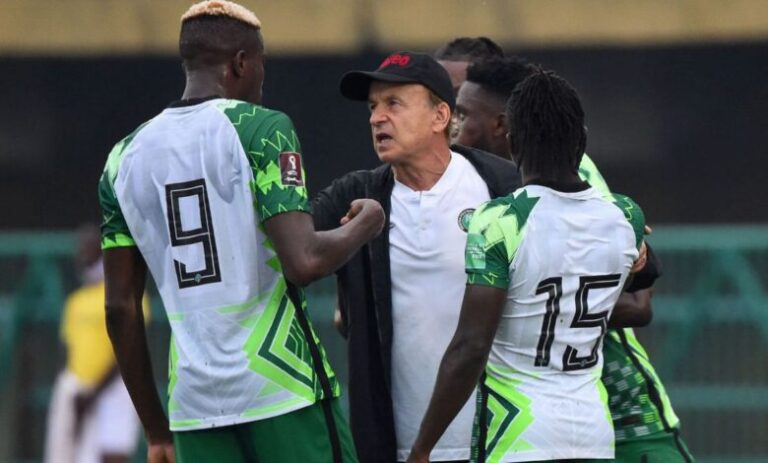 World Cup Qualifiers: Coach expresses confidence in Super Eagles performance