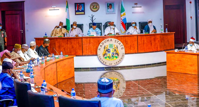 Northern governors say rotational presidency unconstitutional