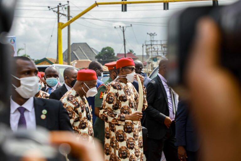 Buhari inaugurates projects in Imo, says 'seeing is believing, I'm really impressed'