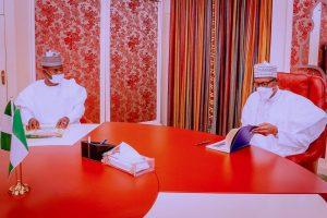 Yahaya Bello hails Buhari for recognising Kogi as oil producing state