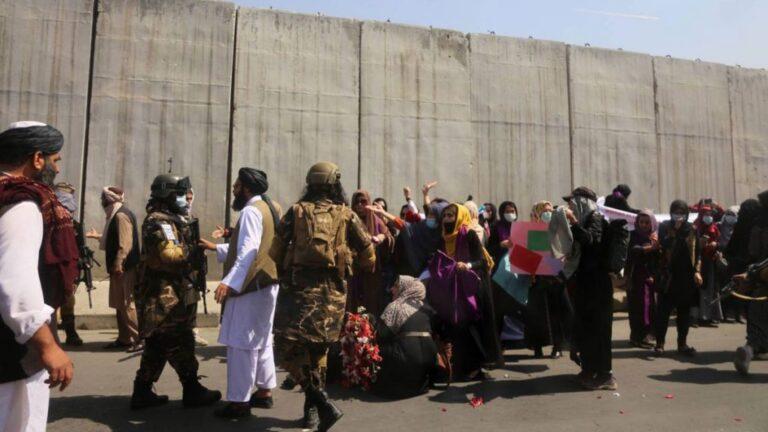 Taliban detains several women after Kabul demonstration – Eyewitness