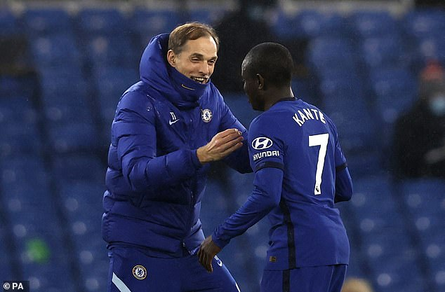 Tuchel says giving vaccine advice not his job, after Kante's positive test