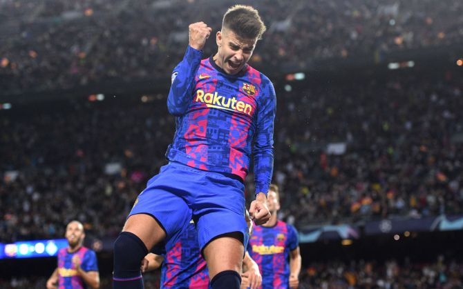 Pique strike secures crucial win for Barcelona