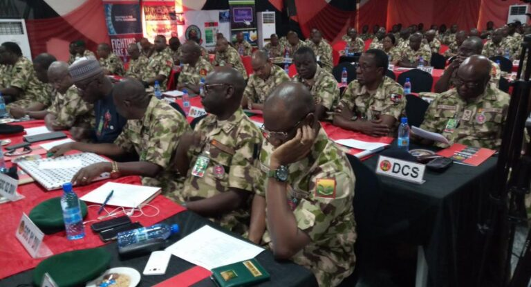 Nigerian Army begins promotion exercises