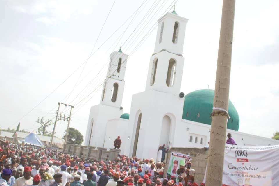 65th birthday: Kwankwaso commissions rehab center, Juma'at mosque in Kano