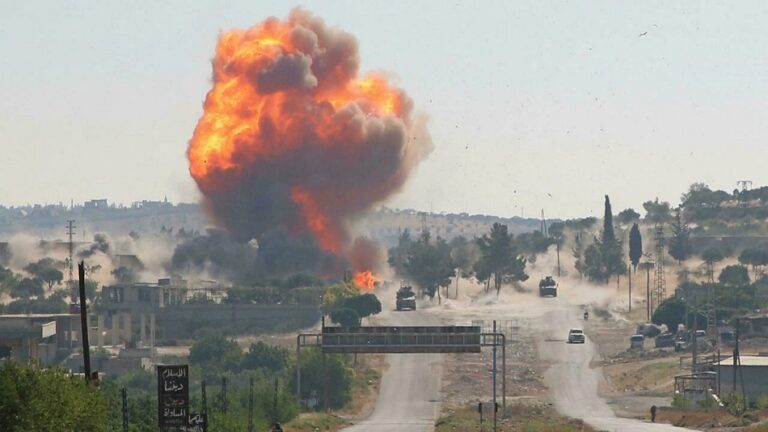 Syria says Israeli strike in Homs province killed one soldier