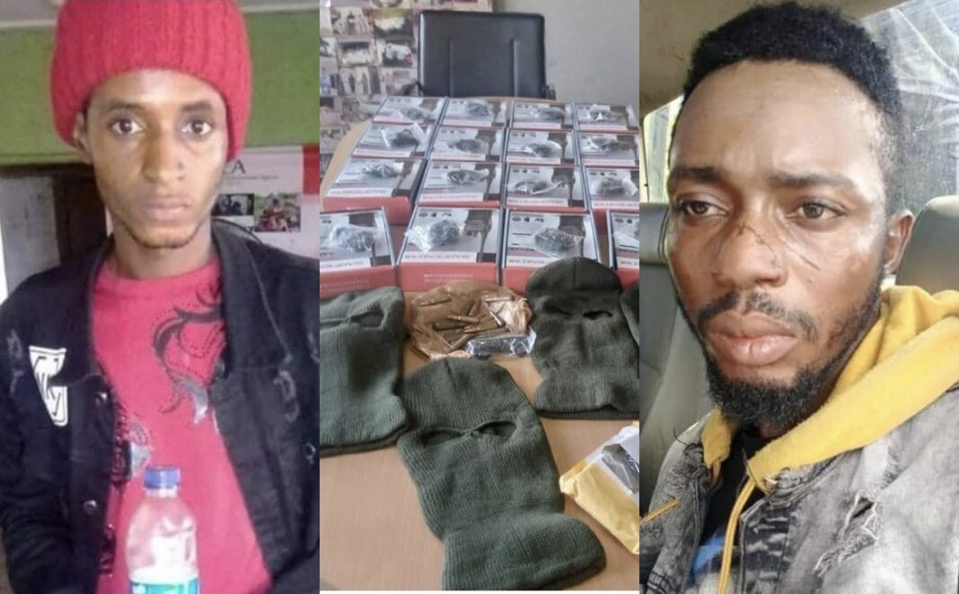 Operatives of the National Drug Law Enforcement Agency (NDLEA) have arrested a suspected fake soldier, Hayatu Galadima and his accomplice, Hamisu Adamu.