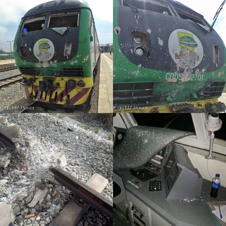 NRC confirms bomb attack on Abuja-Kaduna train
