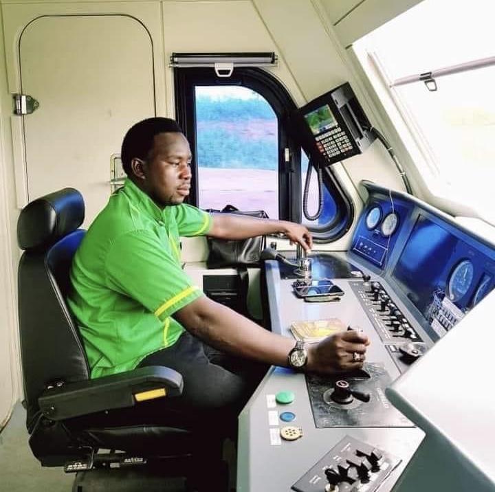 Meet the brave Abuja-Kaduna train driver, Ziya'u Yusuf, who survived gun and bomb attacks