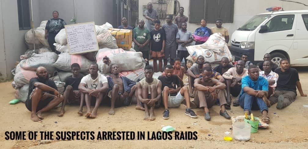 NDLEA intercepts over 153,256kgs of drugs, arrests 663 suspects in 1 week